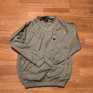 Men's golf windbreaker shirt